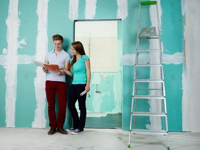 die eigenleistung selbst was machen damit die baufinanzierung billiger wird. Black Bedroom Furniture Sets. Home Design Ideas